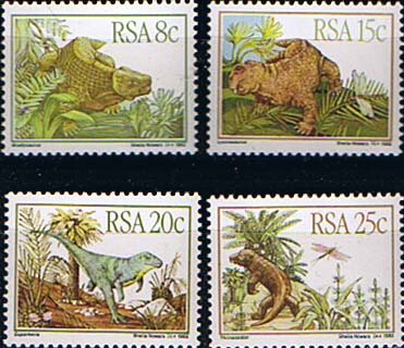 south-africa-1982-karoo-fossils-prehistoric-animals-set-fine-mint-9332-p
